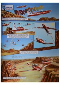 Extrait de Patrouilles aériennes acrobatiques -2- Volumes 1 & 2