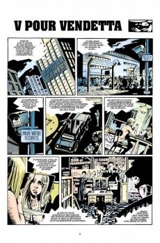 Extrait de V pour Vendetta - Tome INTb2012