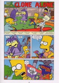 Extrait de Bart Simpson (Jungle !) -3- Fils d'Homer
