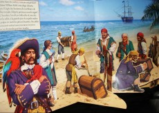 Extrait de Vivez l'histoire (pop-up) - Pirates à l'horizon
