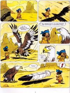 Extrait de Yakari -1e2009- Yakari et Grand Aigle