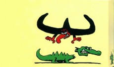 Extrait de Le baron Noir -Flip- Le Crocodile farceur et le Mouton sécateur