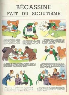 Extrait de Bécassine -17c1970- Bécassine fait du scoutisme