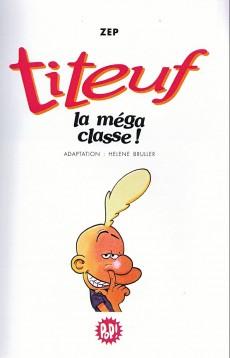 Extrait de Titeuf (bibliothèque rose pop!) -13- La méga classe !