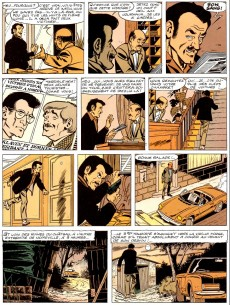 Extrait de Ric Hochet - La collection (Hachette) -15- Le monstre de Noireville