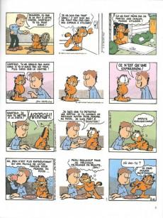 Extrait de Garfield -8b2004- Qui dort, dîne !