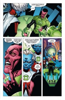 Extrait de Green Lantern (DC Renaissance) -1- Sinestro