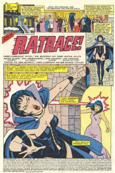 Extrait de New Mutants (The) (1983) -54- Ratrace !
