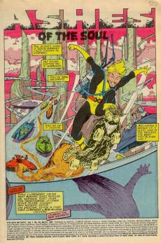 Extrait de New Mutants (The) (1983) -49- Ashes of the Soul