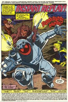 Extrait de New Mutants (The) (1983) -64- The Resurrection of Cypher !