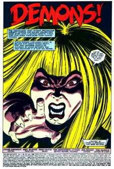 Extrait de New Mutants (The) (1983) -65- Demons