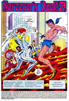 Extrait de New Mutants (The) (1983) -66- Sorcerer's Duel !