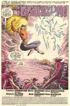 Extrait de New Mutants (The) (1983) -68- Illusion!