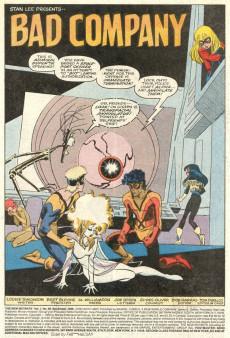 Extrait de New Mutants (The) (1983) -69- Bad Company