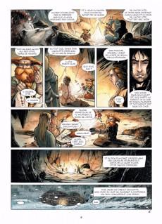 Extrait de Merlin - La quête de l'épée -5- Les Dames du lac de feu