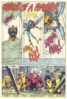 Extrait de The new Mutants (1983) -57- Birds of a Feather
