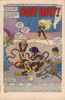 Extrait de New Mutants (The) (1983) -61- Our Way !