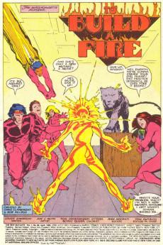 Extrait de New Mutants (The) (1983) -62- To Build a Fire