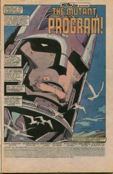 Extrait de X-Factor (Marvel comics - 1986) -14- The Mutant Program !