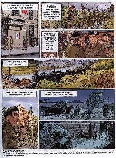 Extrait de Normandie juin 44 -4- Sword beach / Caen