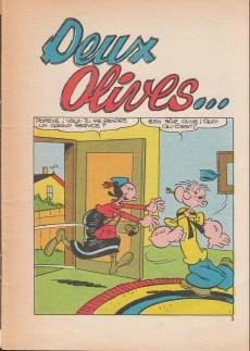 Extrait de Popeye (Cap'tain présente) -39- Deux olives...