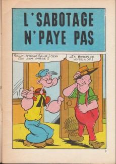 Extrait de Popeye (Cap'tain présente) -56- L'sabotage n'paye pas