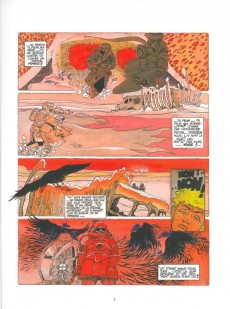 Extrait de Neige -2c- La mort corbeau