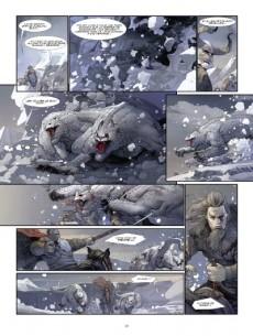 Extrait de Konungar -2- Les guerriers du néant