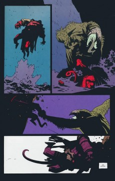Extrait de Hellboy (Dark Horse France) -2- Les germes de la destruction tome 2