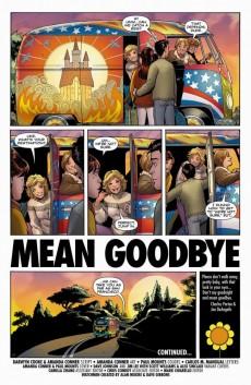 Extrait de Before Watchmen: Silk Spectre (2012) -1- Silk Spectre 1 (of 4) - Mean Goodbye