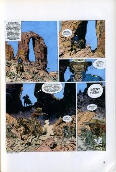 Extrait de Classici del Fumetto di Repubblica (I) - Serie Oro -25- Blueberry - Il Tesoro dei Confederati