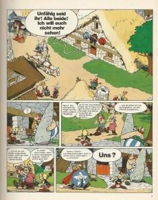 Extrait de Astérix (en allemand) -16- Astérix bei den schweizern