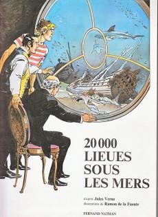 Extrait de 20 000 lieues sous les mers (De La Fuente) - 20 000 lieues sous les mers