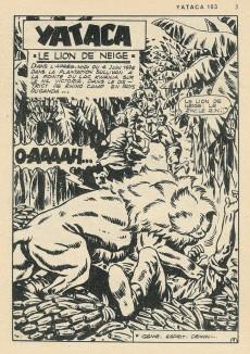 Extrait de Yataca (Fils-du-Soleil) -103- Le lion des neiges