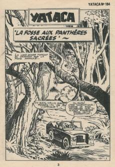 Extrait de Yataca (Fils-du-Soleil) -184- La fosse aux panthères sacrées
