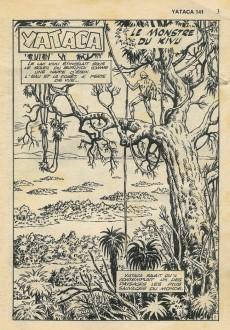 Extrait de Yataca (Fils-du-Soleil) -141- Le monstre du Kivu