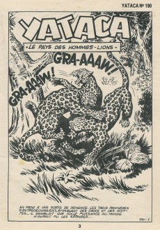 Extrait de Yataca (Fils-du-Soleil) -190- Le pays des hommes-lions