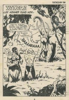 Extrait de Yataca (Fils-du-Soleil) -194- Les hommes sans nom
