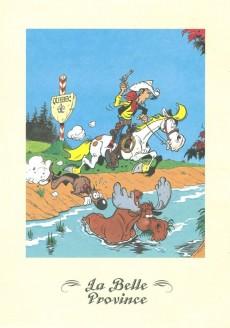 Extrait de Lucky Luke - Les Dessous d'une création (Atlas) -37- La belle province - La corde au cou