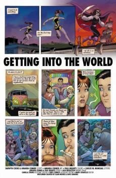 Extrait de Before Watchmen: Silk Spectre (2012) -2-  Silk Spectre 2 (of 4) - Getting into the world
