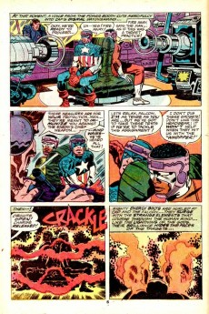 Extrait de Captain America (Marvel comics - 1968) -194- The Trojan Horde!