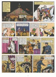 Extrait de Pom et Teddy (BD Must) -1- Le cirque Tockburger