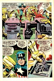 Extrait de Captain America (1968) -200- Dawn's early light!