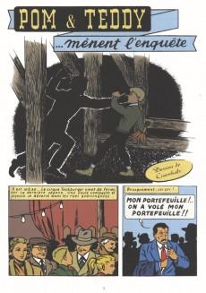 Extrait de Pom et Teddy (BD Must) -10- Mènent l'enquête