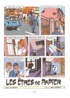 Extrait de Jérôme K. Jérôme Bloche -2- Les êtres de papier