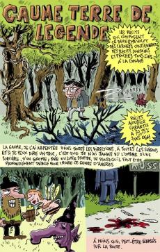 Extrait de Carnets d'un aventurier de l'ordinaire -2- Lève-toi, on va au bois