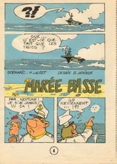 Extrait de Marée basse (Lauzet/Jaminon) -MR2313- Marée basse
