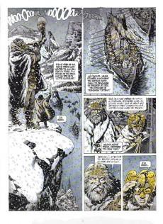 Extrait de Chroniques Barbares -3- L'odyssée des Vikings