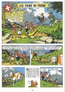 Extrait de Bob et Bobette (Publicitaire) -Gerv- Les pains de pierre