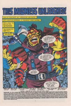 Extrait de Ravage 2099 (Marvel comics - 1992) -2- Madness Unleashed!